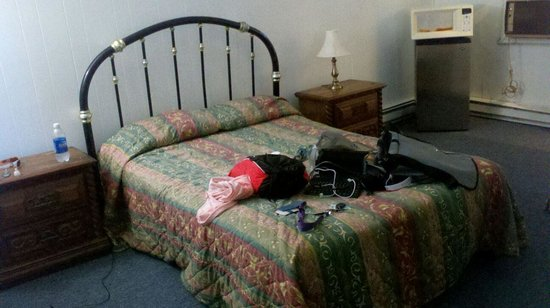 Monroe, NY: My room for the night