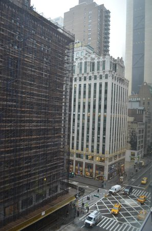 West 57th Street by Hilton Club: West 57th Street (Looking east)