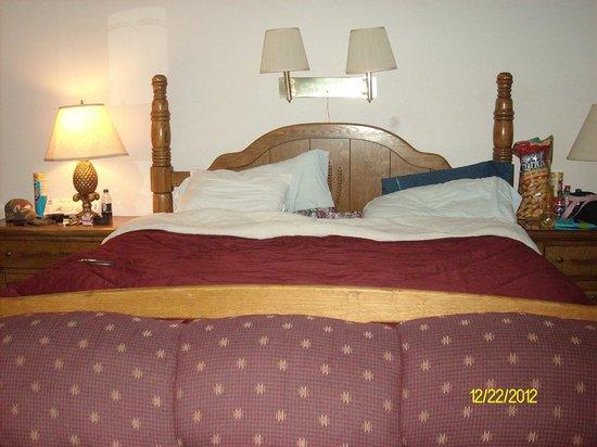Meadowlark Motel: bed in suite king size