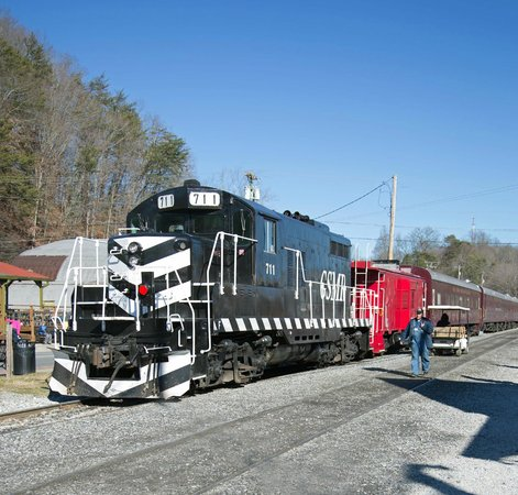 Bryson City, Carolina del Norte: Great Smoky Mountain Railroad