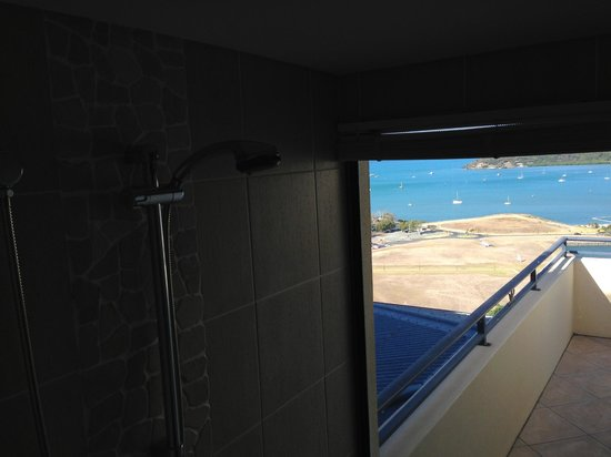 Pinnacles Resort: View from shower