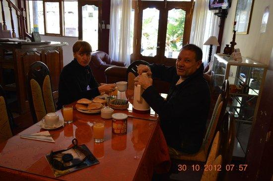 Hostal Chaska : Desayuno