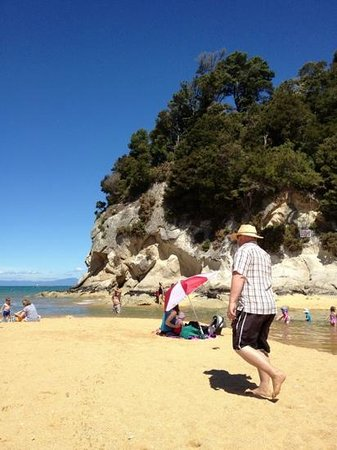 Kaiteriteri Beach: summer time
