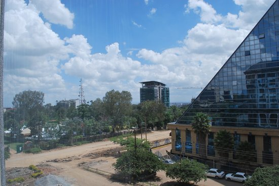 Crowne Plaza Hotel Nairobi: view from room