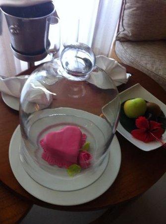 Kempinski Seychelles Resort: комплимент