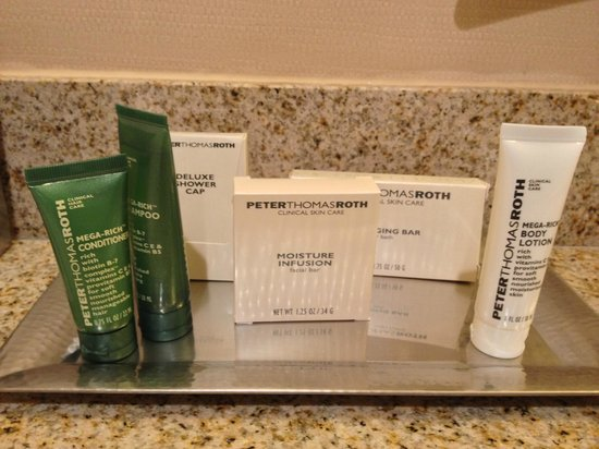Hilton Orange County / Costa Mesa: Good quality toiletries