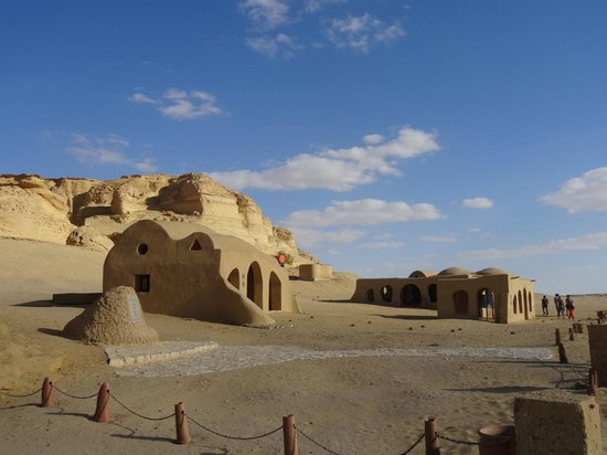 Al-Fayoum Oasis : Visitor's center at Wadi El-Hitan