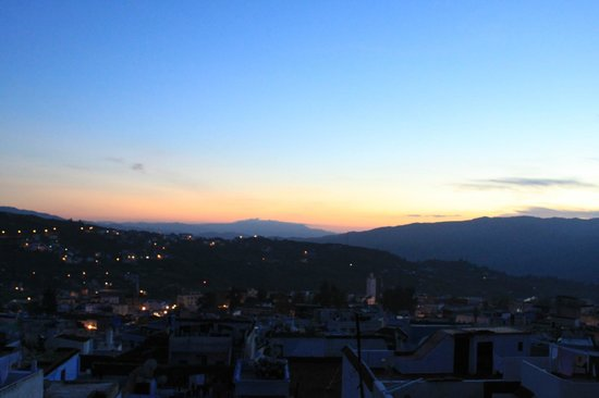 Dar Meziana: Sunset on the terrace