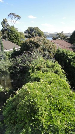 Boscobel of Ulverstone Bed & Breakfast: View from room to Leven River