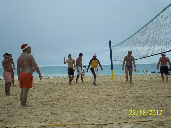 Caribe Club Princess Beach Resort & Spa: Beach Volleyball