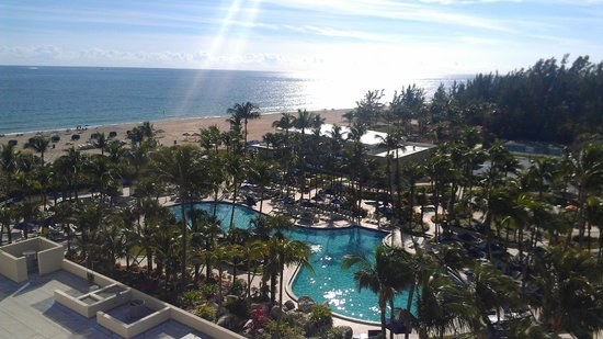 Fort Lauderdale Marriott Harbor Beach Marriott Resort & Spa: View from my room!!