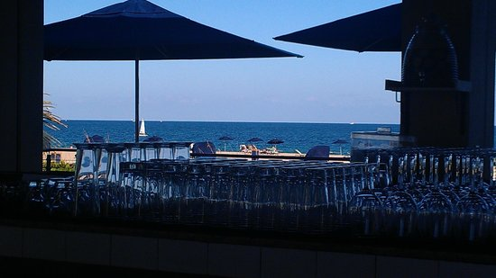 Fort Lauderdale Marriott Harbor Beach Marriott Resort & Spa: Sea Level Restaurant - Ocean Bar
