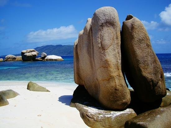 Isla La Digue, Seychelles: coco island
