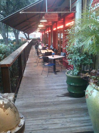 Pappasito's Cantina: Outdoor Seating Area