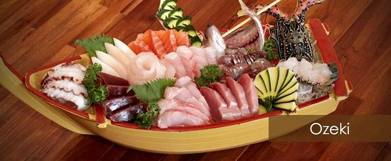 Take Japanese Restaurant: Osheki Sashimi