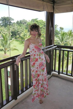 Club Med Bintan Island: A view from the breezy verandah