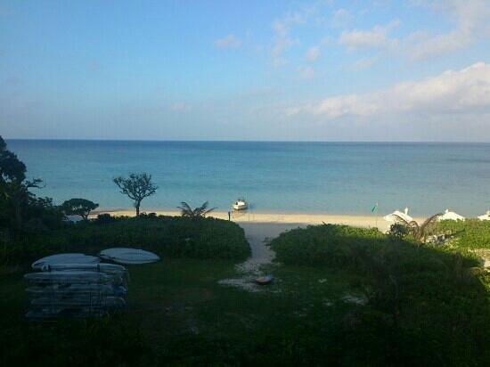 Club Med Kabira Beach: 客室からの12月の景色