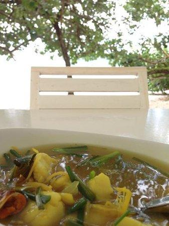 Payam Cottage Resort: ต้มส้มปลาใส่ขิง 190 บาท