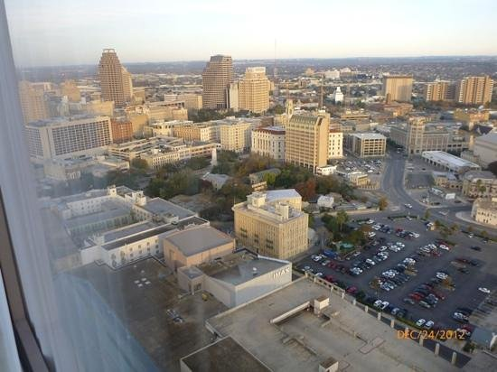San Antonio Marriott Rivercenter: view from our suite