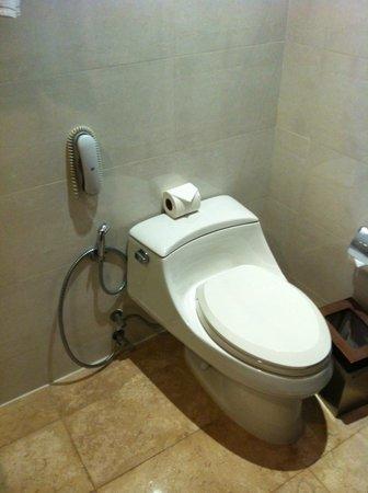 أمورا نيولوكس هوتل: トイレ 