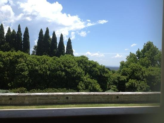 Nineteen23: View from veranda. Only two tables here.