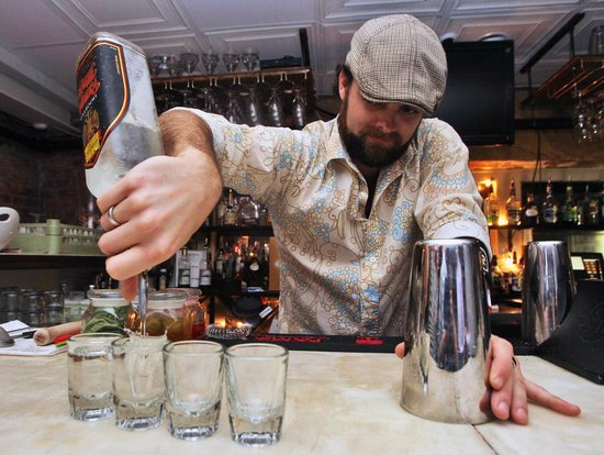 Copper and Vine: Mixologist Adam Knight