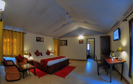 Garhmukteshwar, India: Cottage Interiors