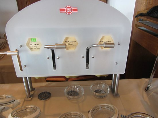 Storchen Zurich: A Honey Machine.... leave it to the Swiss!!