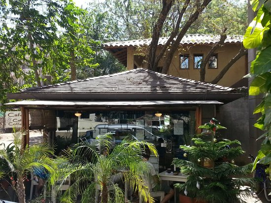 Cafe Tico Tamarindo : Outside of Cafe Tico