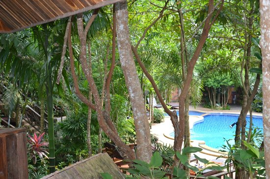 Phu Pha Ao Nang Resort and Spa: View from room to pool