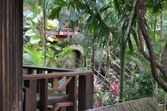 Phu Pha Ao Nang Resort and Spa: View from room