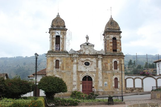 Boyaca, Kolumbien: The church