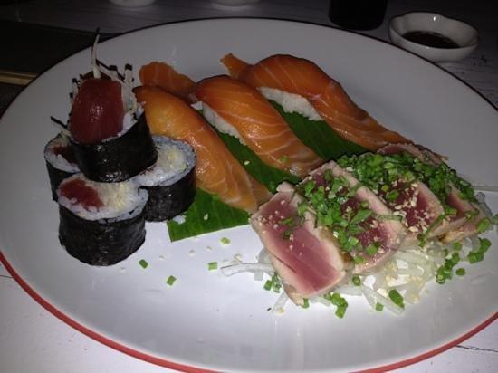 Minami: Delightful fresh sushi and sashimi plate