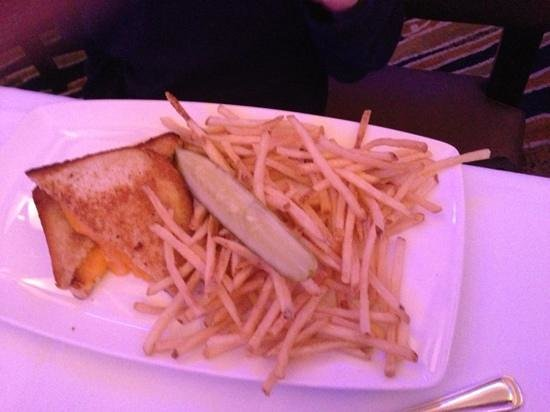 The Oceanaire Seafood Room : grilled cheese