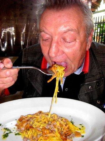 Makuti Villas Resort: Spaghetti con le vongole