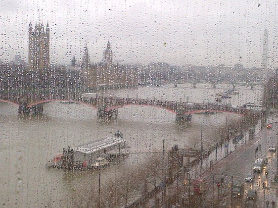 Park Plaza London Riverbank: Magnificent Westminster river view from our room