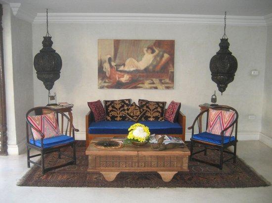 At Niman Conceptual Home: tea area