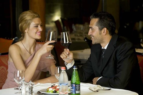 Royal Tulip Grand Hotel Yerevan: Dining at Golden Tulip Hotel Yerevan