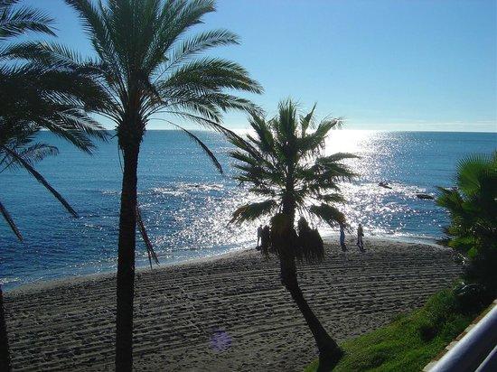 Las Arenas Hotel: Beach area