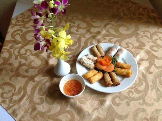 Hanoi Garden Restaurant: Spring rolls Saigon