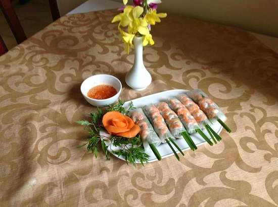 Hanoi Garden Restaurant: Spring roll Saigon
