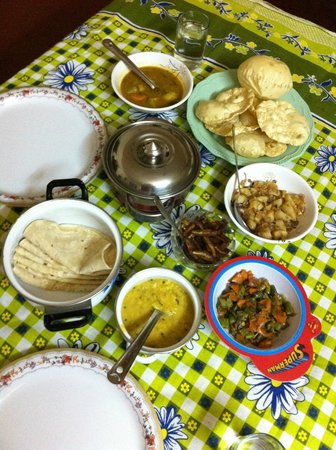 Kerala House: home-cooked meal