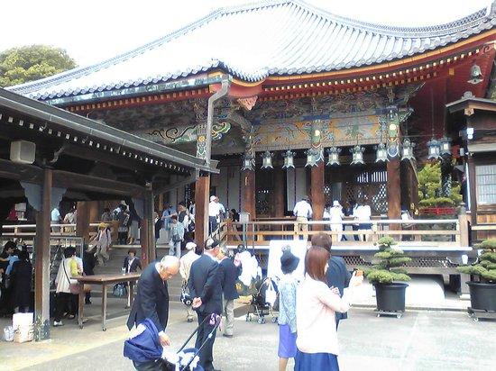 Nakayamadera: 本堂
