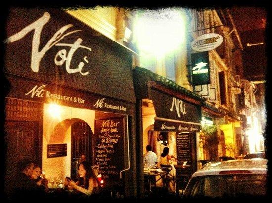 Noti Restaurant & Bar: The Noti @ night