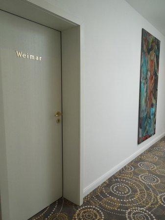 Hotel Villa Hügel: Weimar room, Villa Hügel, May 9 2012
