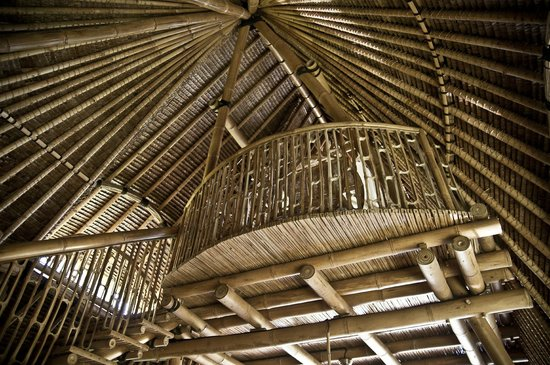 Bamboo Village Le Sabot Ubud: beautiful bamboo craftsmanship