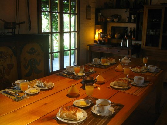 El Galope Farm & Hostel: Cafe da manha