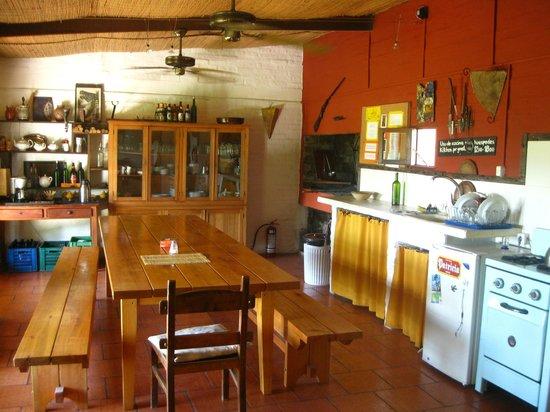 El Galope Farm & Hostel: A cozinha