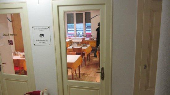 Hotel Bernina Geneve: Salle de mange