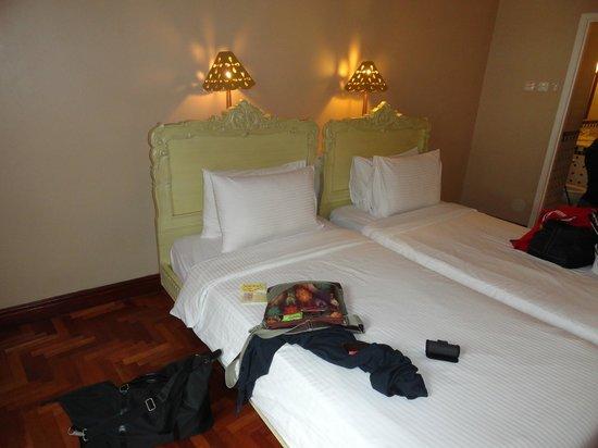 Colmar Tropicale, Berjaya Hills: The beds